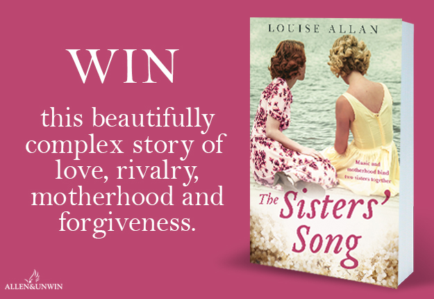 WIN 1 of 20 copies of the novel The Sisters' Song by Louise Allan