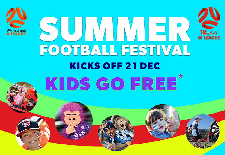 WIN 1 of 5 family passes to the Hyundai A-League Summer Football Festival