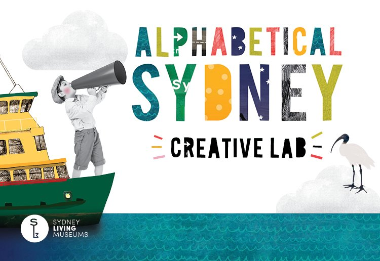 WIN tickets to Alphabetical Sydney: Creative Lab at Museum of Sydney