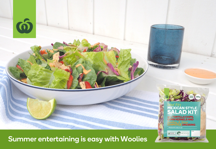 Woolworths Mexican Salad Kit