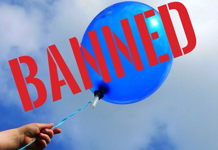 Release of balloons BANNED in this Aussie state