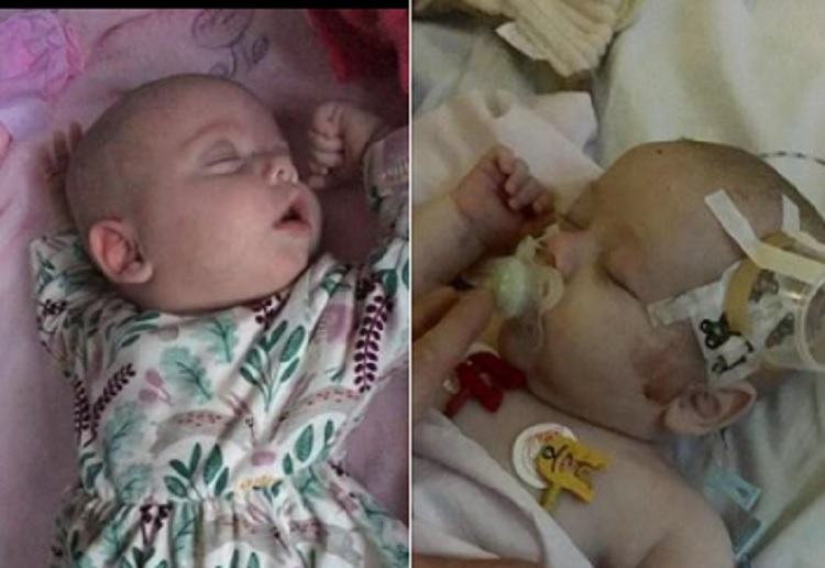 Baby Girl Healthy One Minute Fighting for Life the Next