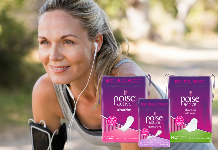 Poise® Active Ultrathins Regular with Wings