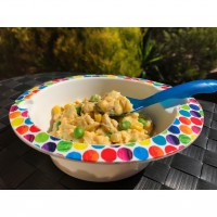 Baby's Cheesy Chicken & Vegetable Mornay