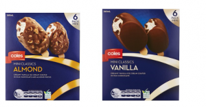 coles icecream