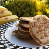 Healthy Baby Banana Pancakes