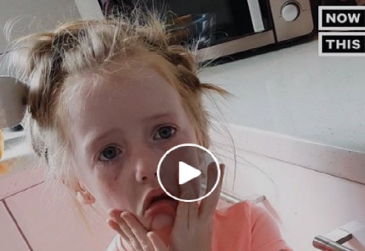 Little Girls Heartbreak at Not Being Invited to Royal Wedding