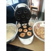 Cinnamon Sugar Coated Mini Donuts.