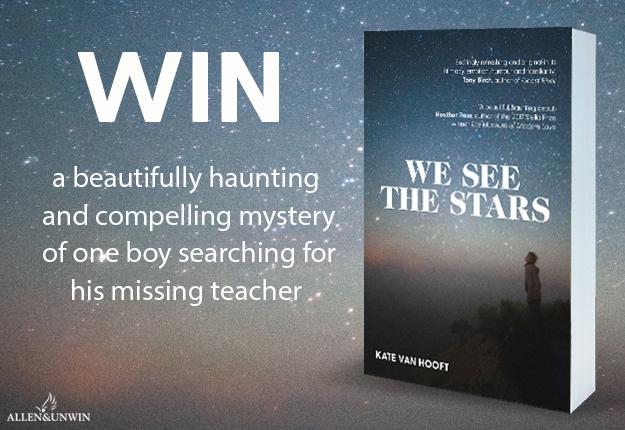 WIN 1 of 20 Copies Of We See The Stars By Kate van Hooft