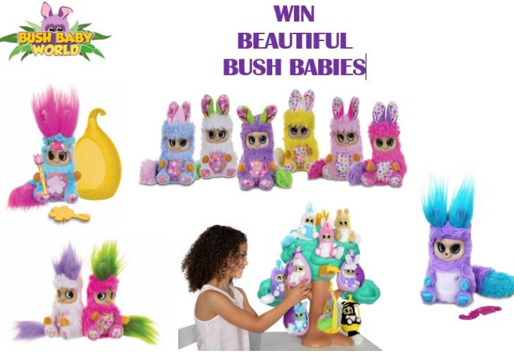 WIN A Gorgeous Hamper Of New Bush Babies From Bush Baby World