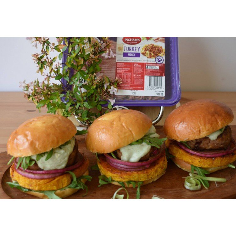 Turkey and Cranberry Burgers