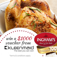 Be A Winner with an Ingham's Chicken Dinner!