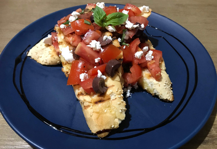 Bruschetta with Olives & Fetta