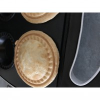 Chicken and sweetcorn pies