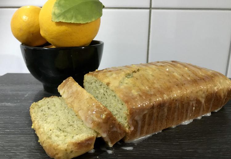 Lemon & Zucchini Cake