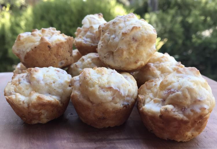Baby Ham & Cheese Muffins