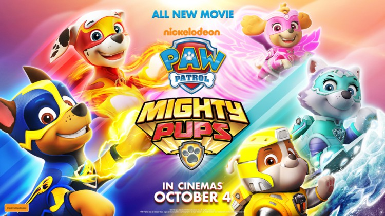 A review for Win A Family Pass To The Special Family Preview Screening Of Paw Patrol: Mighty Pups!