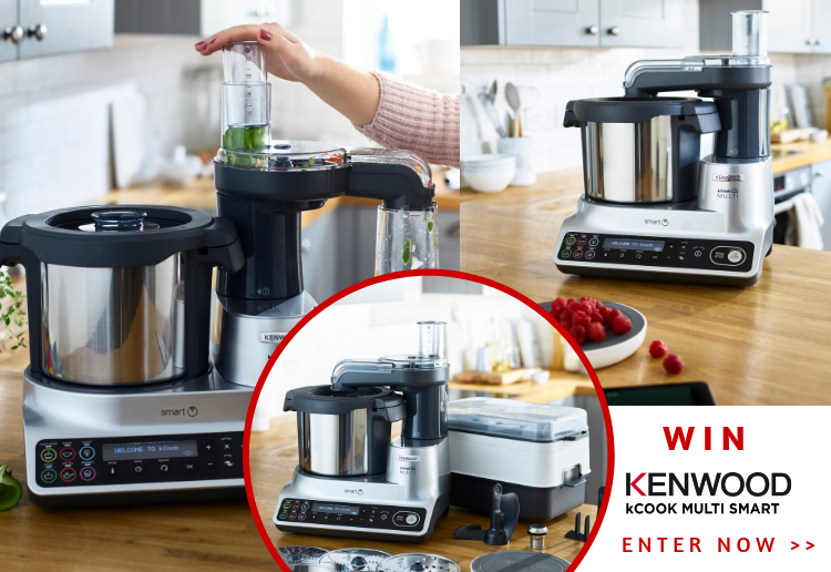Win The Kenwood kCook Multi Smart – The Ultimate Multi-Tasking ThermoCooker