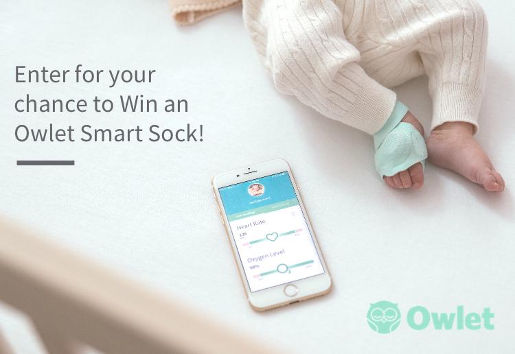 Win an Owlet Smart Sock!