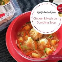 Chicken & Mushroom Dumpling Soup