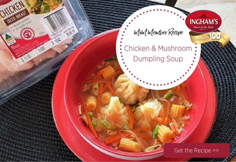 mom81879 reviewed Chicken & Mushroom Dumpling Soup