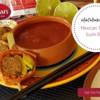 Mexican Turkey Sushi Rolls