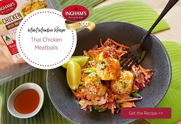 rachel1970 reviewed Thai Chicken Meatballs with Sweet Chilli & Sesame Slaw