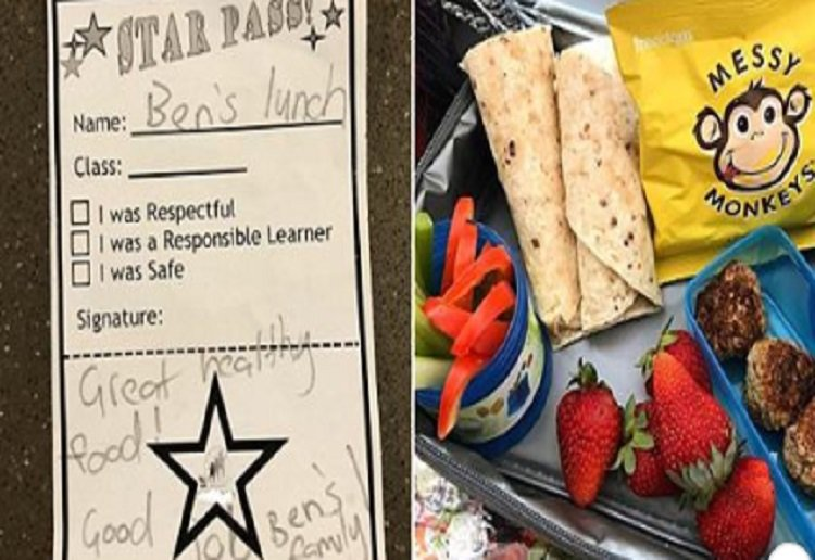 "Parents Say This Note in Child's Lunchbox is ""Condescending"""