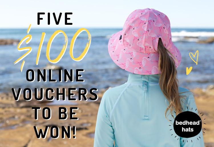Get Summer Ready with a $100 Bedhead Hats Voucher