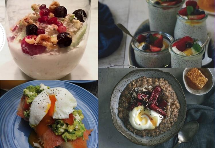 Our Top Five HEALTHY Breakfast Ideas