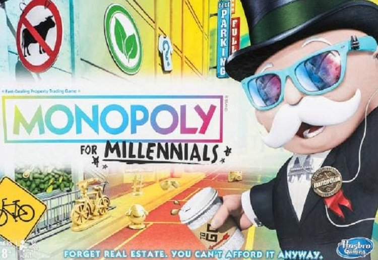 mom111059 reviewed Monopoly For Millennials is Actually a Thing and People Are NOT Impressed