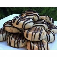 Twix Inspired Biscuits