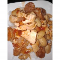Chicken and chorizo casserole
