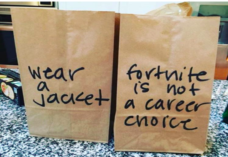 mom74005 reviewed Mum's Passive Aggressive Lunch Bags Go Viral