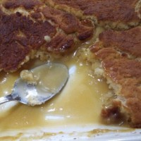 Self Saucing Butterscotch Pudding