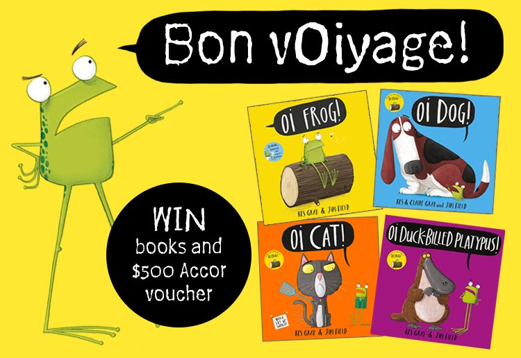 Oi! Win a $500 summer staycation and book pack!