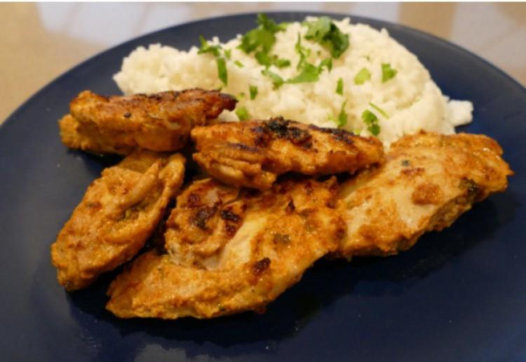 Chicken in Spiced Yoghurt