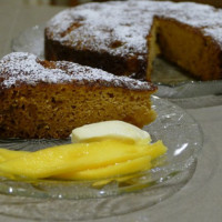 Moist Mango cake