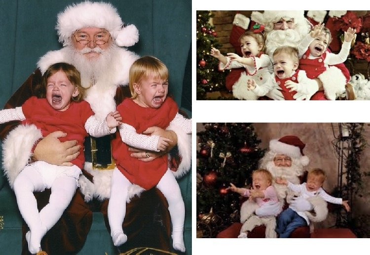 The Funniest Santa Photo Fails Ever!