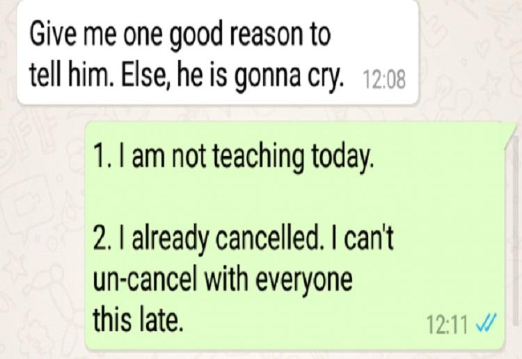 Demanding Mums Text Exchange Goes Viral
