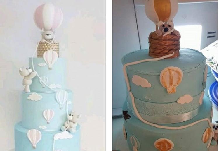 Mother Horrified After Receiving Her Cake Order