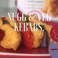 NUGG And Vegetable Kebabs