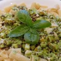 Braden's Creamy Pesto Pasta