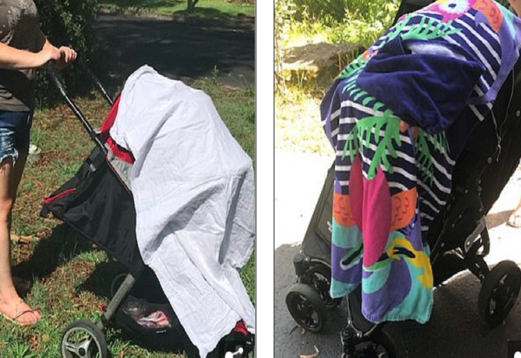 Parents Warned – Do NOT Ever Cover Your Pram