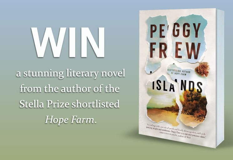 Win One Of 20 Copies Of Islands By Peggy Frew