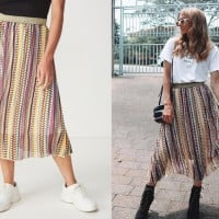 Fashion Bloggers Are Going Crazy Over This Designer Skirt Dupe