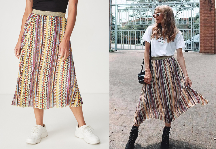 taynik46 reviewed Fashion Bloggers Are Going Crazy Over This Designer Skirt Dupe