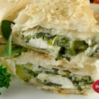 Chicken and Goats Cheese Filos