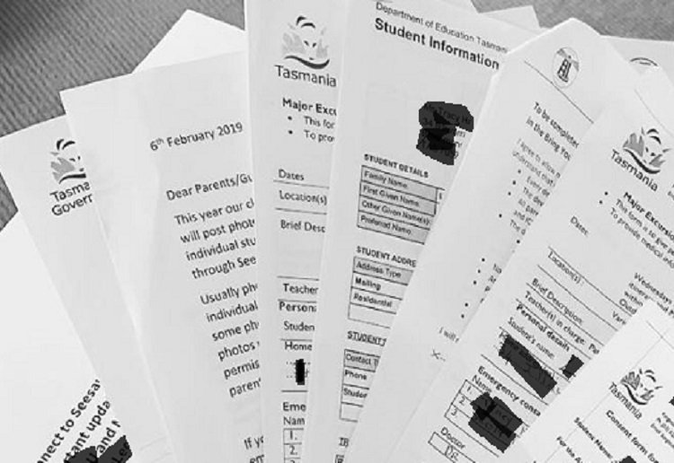 No More  'Mother' OR 'Father' Details on School Admin Papers