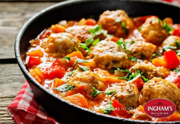 Turkey And Tomato Hotpot